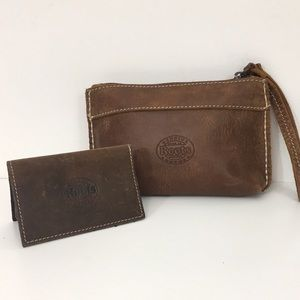 Roots Tribe Wristlet & Card Holder